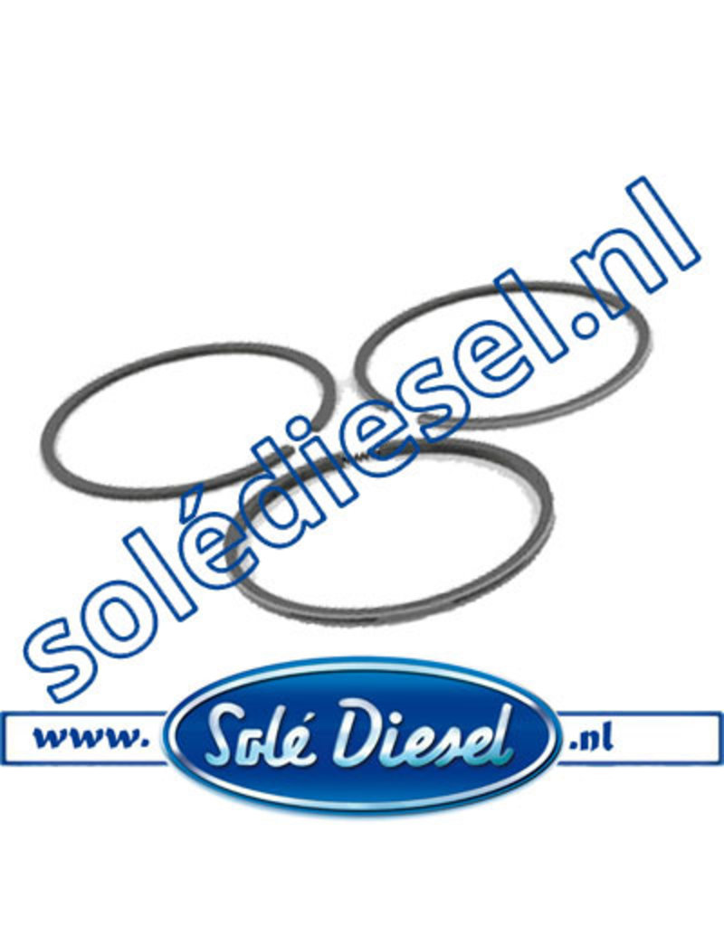 12222023 | Solédiesel |Teilenummer | Piston Ring Set Std