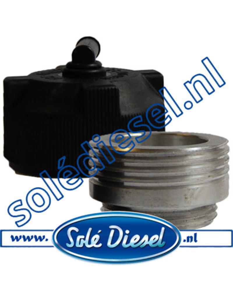 15111002R | Solédiesel | parts number | Cooler Filer Neck + Cap