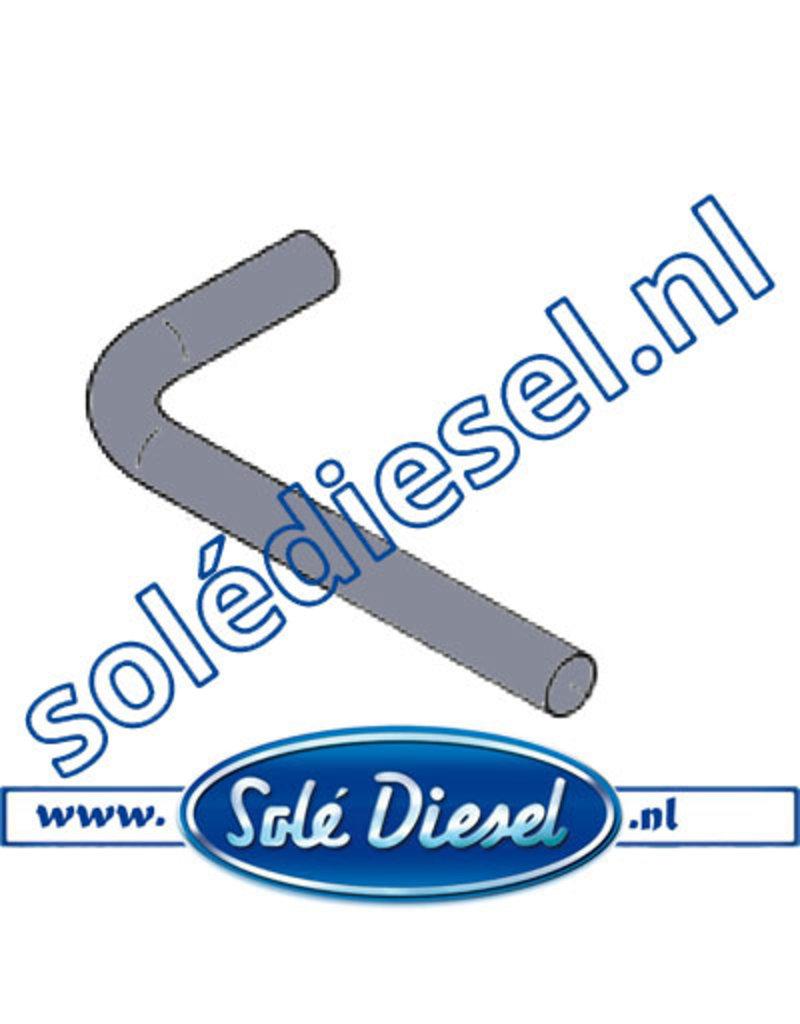17011022 | Solédiesel onderdeel | Buis