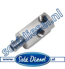 13817053 | Solédiesel onderdeel | Adapter Oliedrukzender
