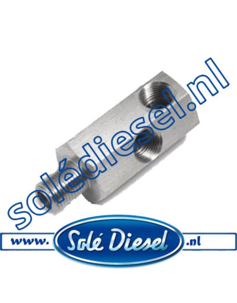 13817053  | Solédiesel | parts number | Oil pressure transmitter adapter