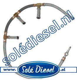 17014019 | Solédiesel |Teilenummer  |  Kraftstoffrücklaufschlauch
