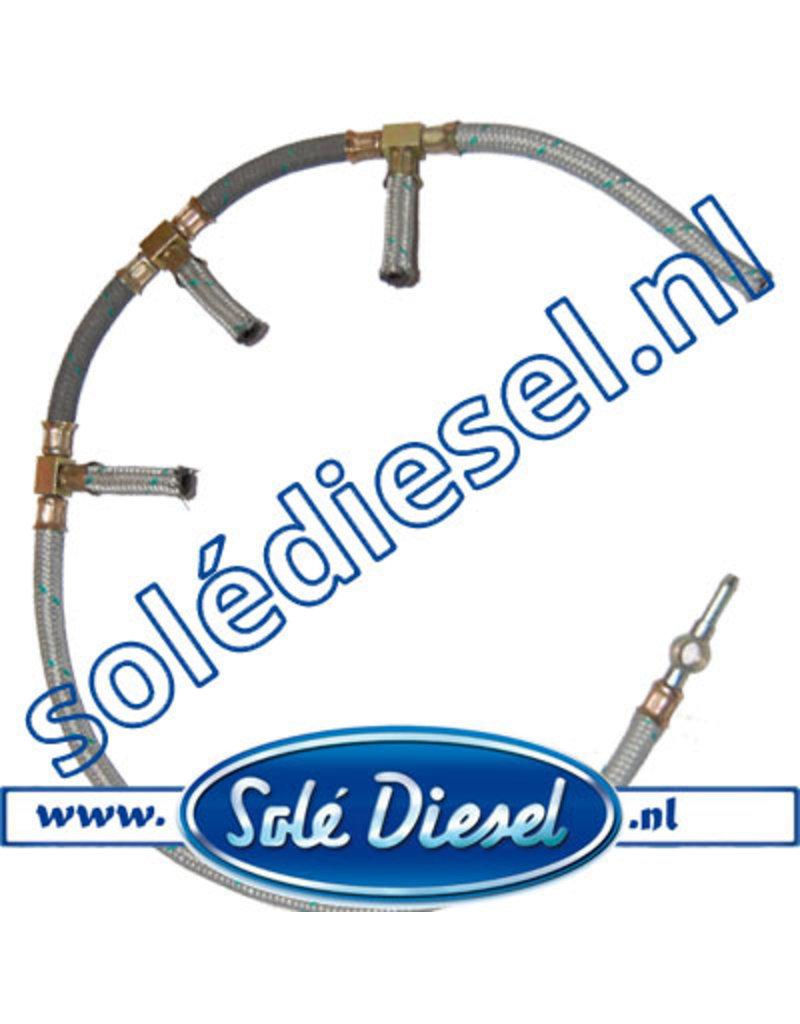 17014019   Solédiesel  Teilenummer     Kraftstoffrücklaufschlauch