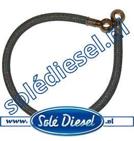 17014017 | Solédiesel onderdeel | Slang brandstoffilter - brandstofpomp