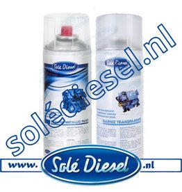 PINES400 Solé  Spuitbus metalic blauw