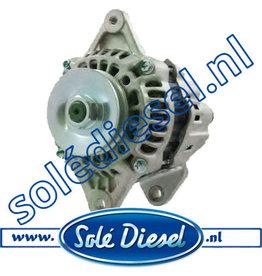 13827210  Solédiesel   parts number    Alternator 12V-40A