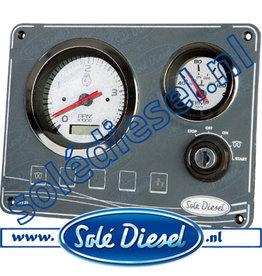 60938130 | Solédiesel onderdeel | Instrumentenpaneel  SVT -20 paneel 12V