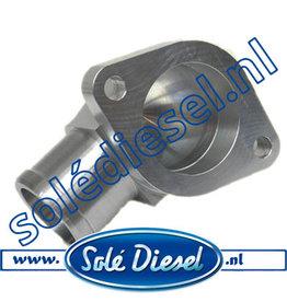 13811020   Solédiesel onderdeel   Fitting Water Outlet