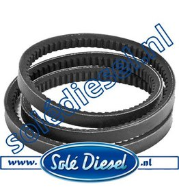17021028| Solédiesel | parts number | V-belt  95A - 120A Dynamo