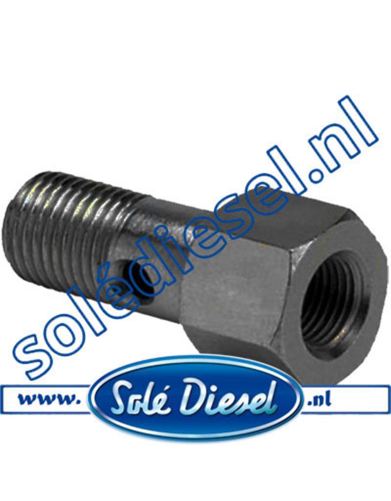 13825027   Solédiesel onderdeel   Screw Hollow