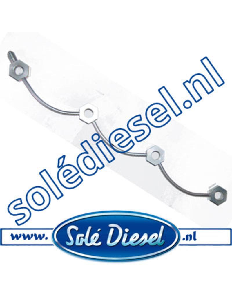 17414018| Solédiesel onderdeel |  Fuel Leak Off Pipe