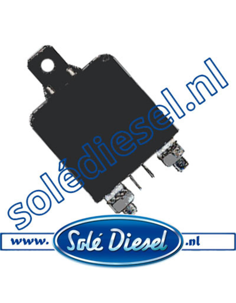 17527005 | Solédiesel onderdeel | Gloei relais 12V