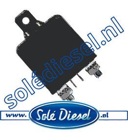 17417005.1   Solédiesel onderdeel   Start relais 24V