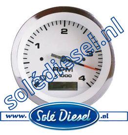 60938910 | Solédiesel | parts number | Tacho / Hour Meter