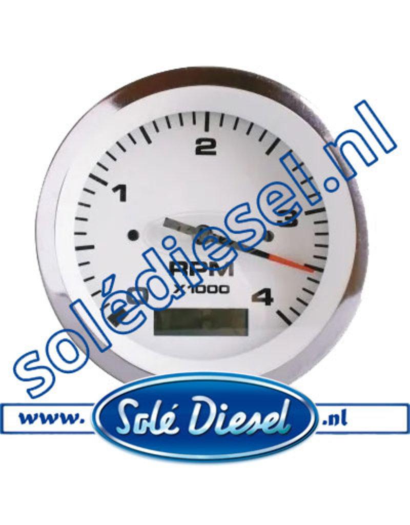60938910  | Solédiesel |Teilenummer | Drehzahl- / Stundenzähler