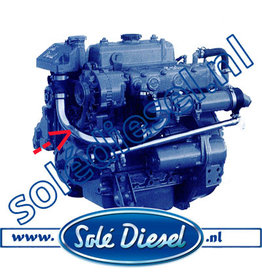 13211051  | Solédiesel | parts number | Pipe From Tank To Cooler
