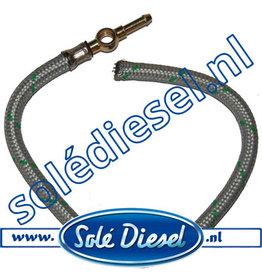 13814020   Solédiesel  Teilenummer     Kraftstoffrücklaufschlauch