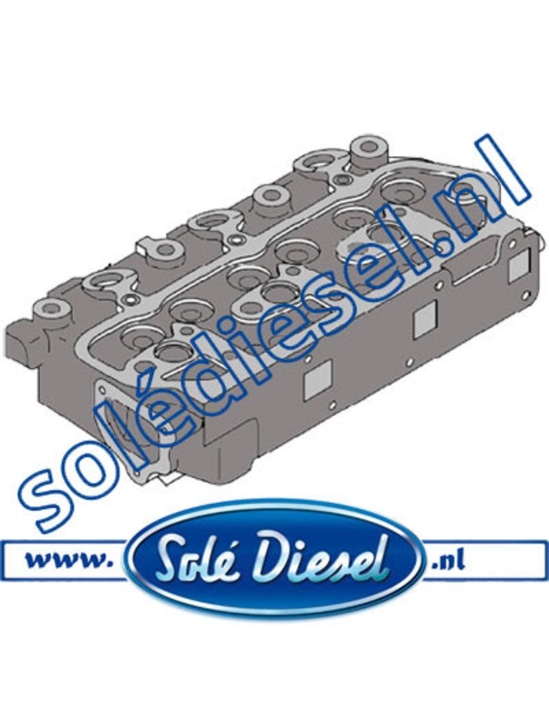 17621001   | Solédiesel |Teilenummer |  Zylinderkopf ohne ventile