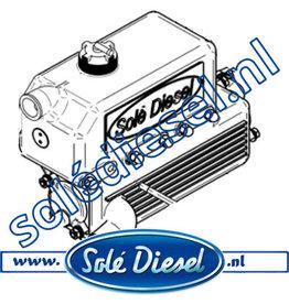 15211000 | Solédiesel |Teilenummer |  Wasserkühler SM615/616