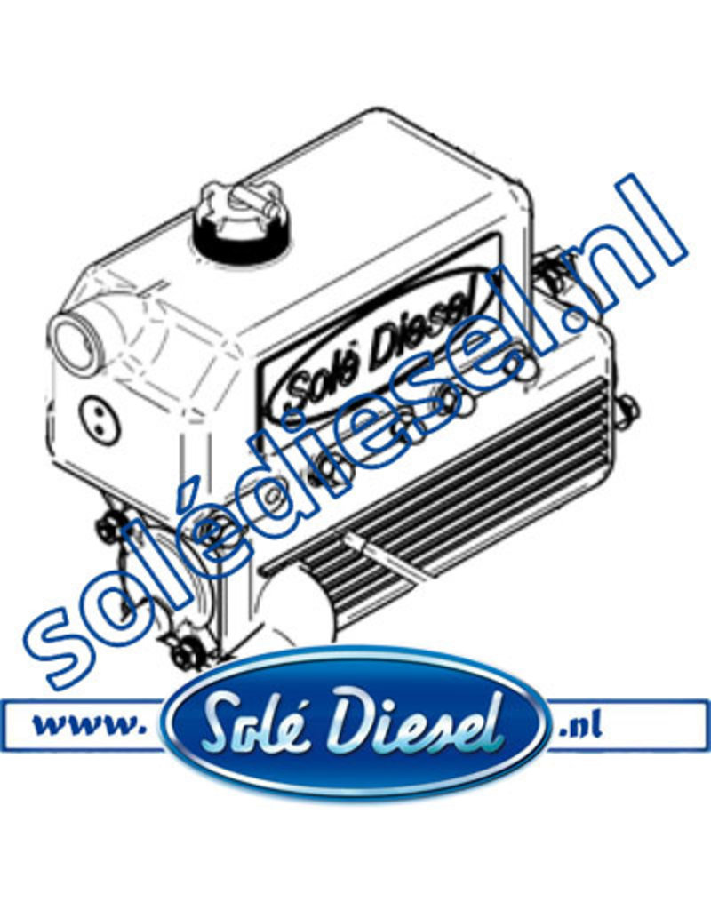 15211000   Solédiesel  Teilenummer    Wasserkühler SM615/616