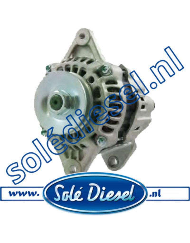 17127210   Solédiesel   parts number    Alternator 12V-50A
