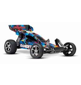 Traxxas Traxxas Bandit RTR 2.4GHz TQ Rock&Roll excl. accu/lader TRX24054-4