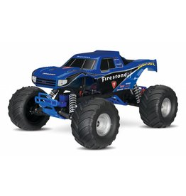 Traxxas Traxxas Big Foot 1/10th Monstertruck XL-5 TQ (incl battery/charger), Firestone, TRX36084-1F