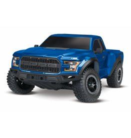 Traxxas Traxxas Ford F-150 Raptor 1:10 2WD 2.4GHz incl. accu en lader, Blue TRX58094-1BLUE