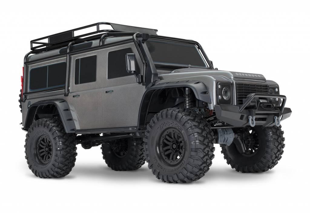 Traxxas Land Rover Defender Crawler Silver TRX82056-4S-2