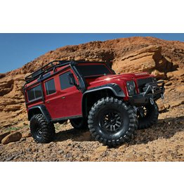Traxxas Traxxas TRX-4 Land Rover Defender Crawler TQi XL-5 excl. accu/lader, Red TRX82056-4R