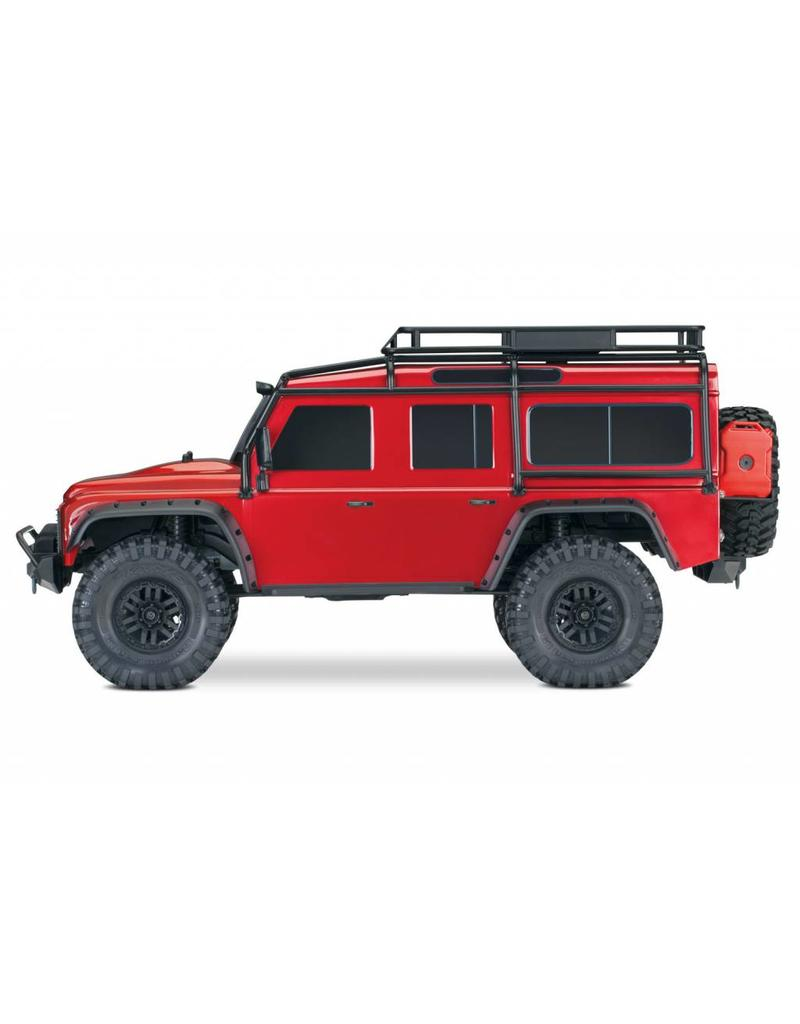 Traxxas Traxxas TRX-4 Land Rover Defender Crawler TQi XL-5 excl. accu/lader, Red TRX82056-4R