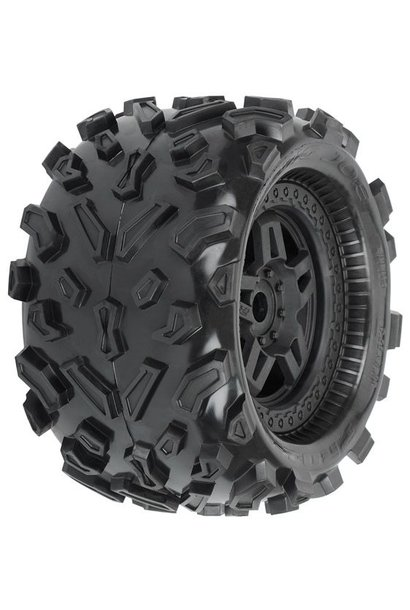 Big Joe 3.8 (40 Series) All Terrain Tires Mounted on Tech, PR1103-13