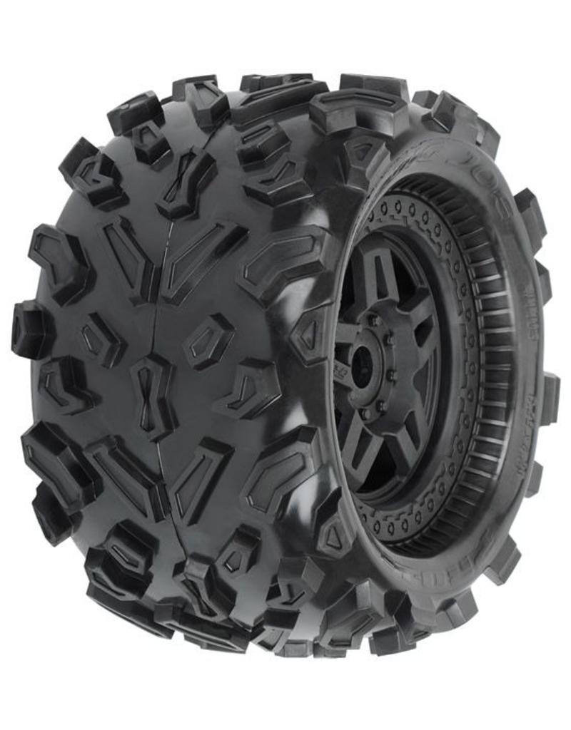 Proline Big Joe 3.8 (40 Series) All Terrain Tires Mounted on Tech, PR1103-13