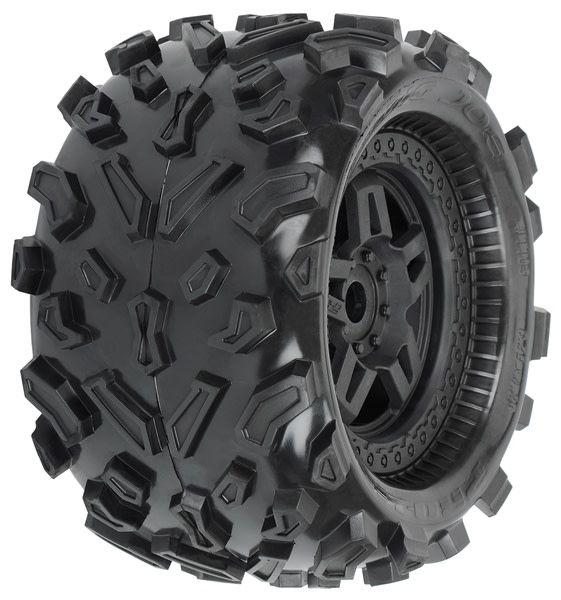 Big Joe 3.8 (40 Series) All Terrain Tires Mounted on Tech, PR1103-13-1