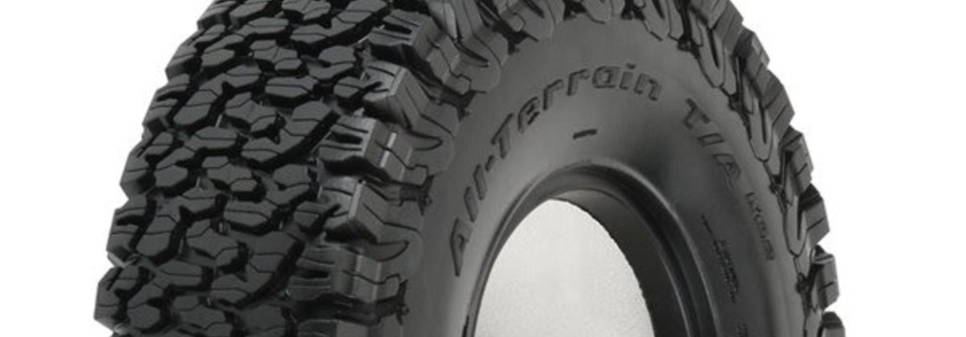 "BFG All-Terrain KO2 1.9"" G8 Rock Truck Tires (2) F/R"