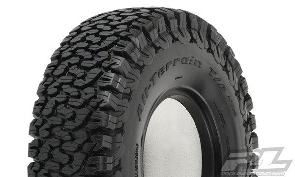 "BFG All-Terrain KO2 1.9"" G8 Rock Truck Tires (2) F/R-1"