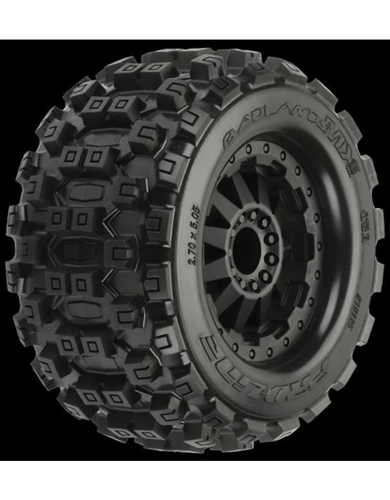 Proline Badlands MX28 2.8 (Traxxas Style Bead) All Terrain Truck Tir, PR10125-14