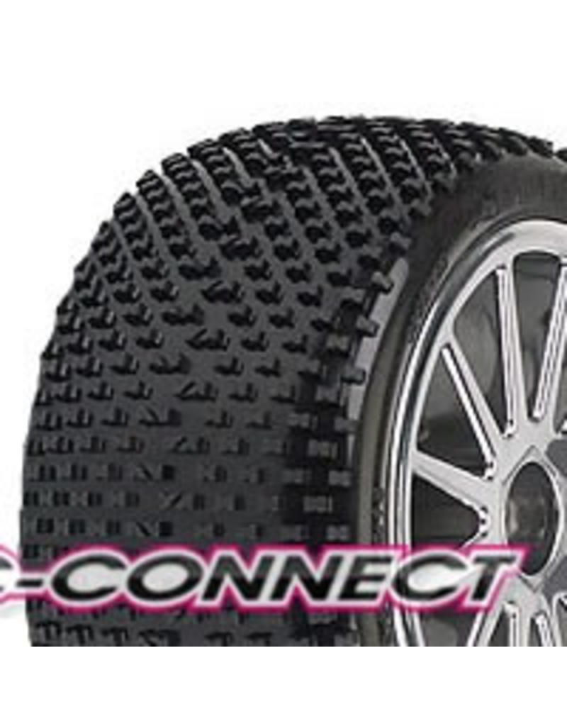 Proline Bow-Tie M2 30 Series Dirt Race Tire Mounted on Torque 30 S, PR1138-12