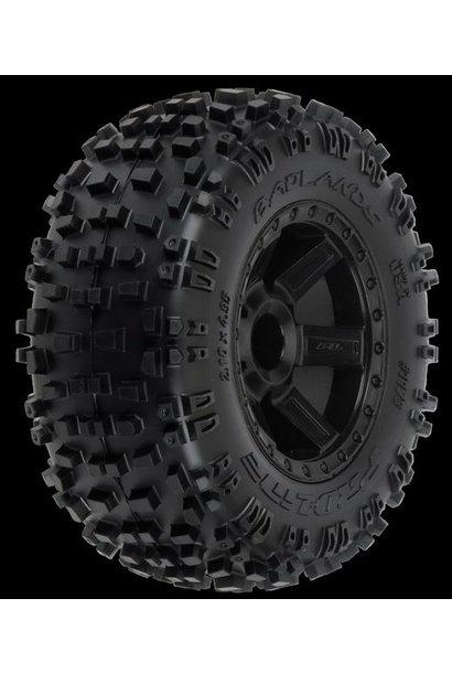"""Badlands 2.8 (Traxxas"""" Style Bead) All Terrain Tires Moun"""