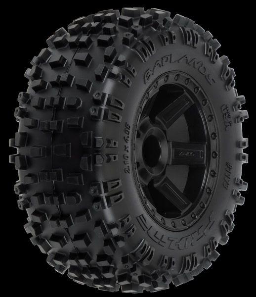"""Badlands 2.8 (Traxxas"""" Style Bead) All Terrain Tires Moun-1"""