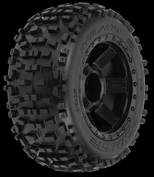 "Badlands 3.8 (Traxxas"" Style Bead) All Terrain Tires Moun, PR1178-11-1"