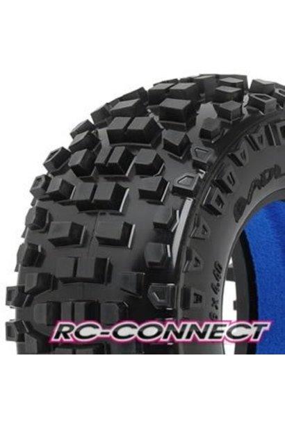 Badlands SC 2.2/3.0 Tires (2) for Slash, Slash 4x4, SC1
