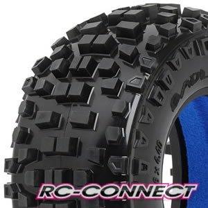 Badlands SC 2.2/3.0 Tires (2) for Slash, Slash 4x4, SC1-1