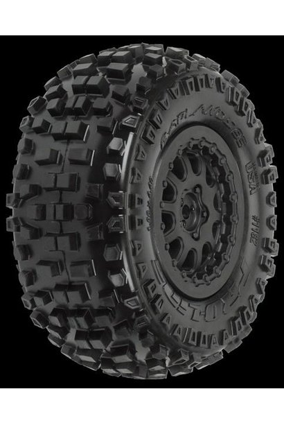 Badlands SC 2.2/3.0 M2 (Medium) Tires (2) Mounted on ProTrac
