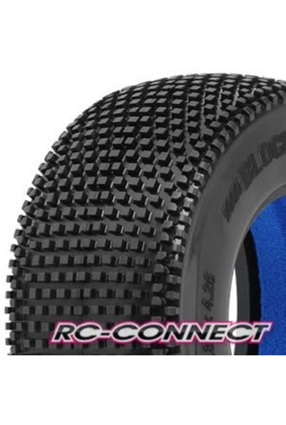 Blockade SC 2.2/3.0 M3 (Soft) Tires (2) for Slash, Slas, PR1183-02