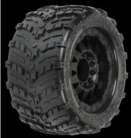 Proline Shockwave 3.8 (Traxxas Style Bead) All Terrain Tires Mounted