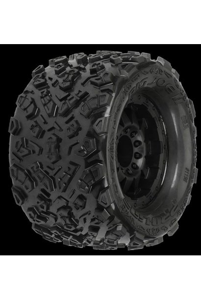 Big Joe II 3.8 (Traxxas Style Bead) All Terrain Tires Mounte, PR1198-13