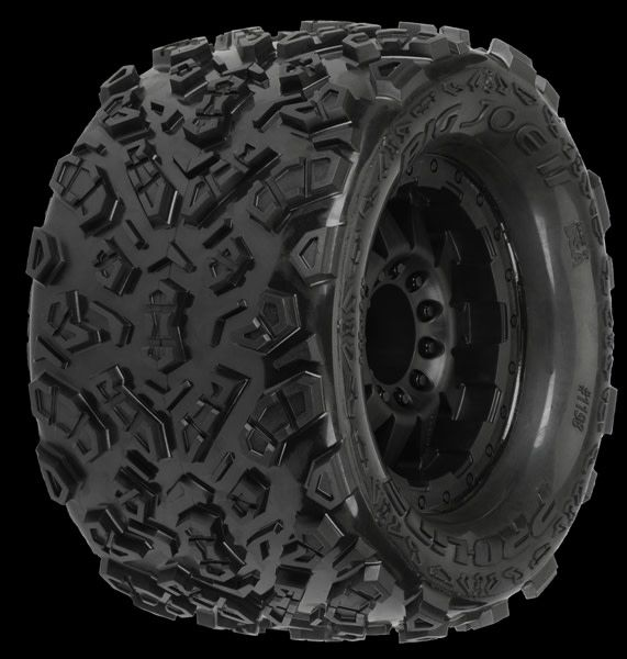 Big Joe II 3.8 (Traxxas Style Bead) All Terrain Tires Mounte, PR1198-13-1