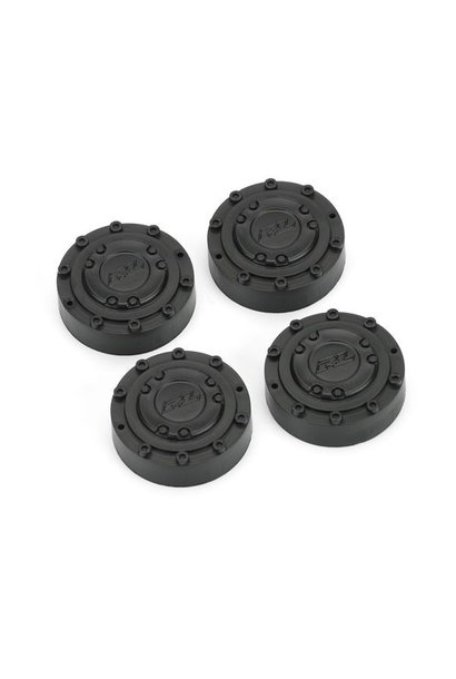 Black Planetary Gear Covers (4 pcs) for Brawler Clod Buster