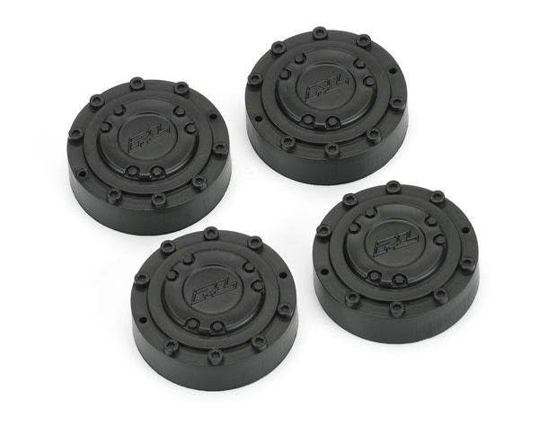Black Planetary Gear Covers (4 pcs) for Brawler Clod Buster-1